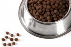 Сухие корма для животных