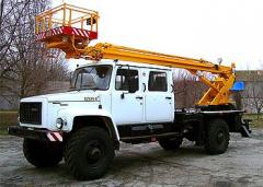 Car lift telescopic AP-14