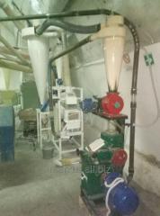 تمرکز محفظه برای ظرفیت کوچک کارخانه های تولید آرد