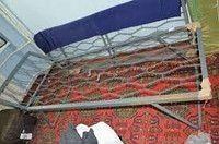 Кровать армейская железная