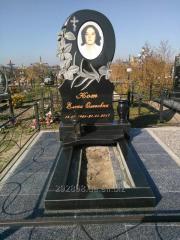 Monuments gravestone for women
