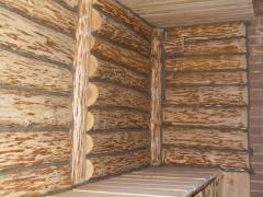 Baths, saunas from an alder