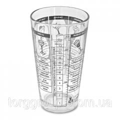 Стакан шейкер, мерный стакан, 500мл