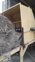 Transporters pulper round bales