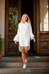 "Dress-shirt ""PETUNIA"" WHITE"