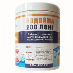 Водойма 200 ЛОНГ таблетки 200г,  хлор для...