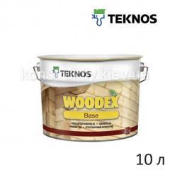 Антисептик грунтовочный Teknos WOODEX BASE (Вудекс бэйс), 10 л