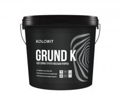 Грунт-краска Колорит GRUND K, 9кг