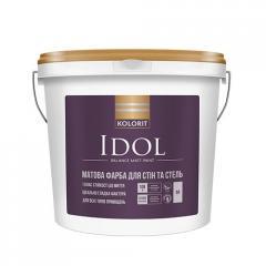 Краска интерьерная Колорит IDOL, 9 кг