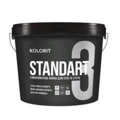 Краска интерьерная Колорит STANDART 3, 9 кг (База С)