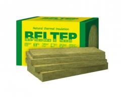 Минеральная вата ТМ Белтеп Фасад 135 (1000х600х50), 3 м.кв, упаковка 5 плит