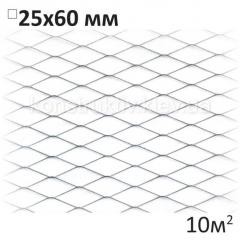 Сетка просечно-вытяжная 25x60 10 м 2