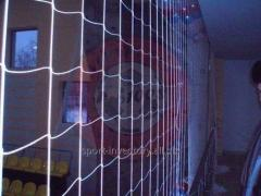 Beschermende fencing mesh nylon (Box 100 * 100 mm, Ø 4mm)