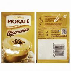 Капучино Mokate Сaffetteria Cappuccino Rum, 15г
