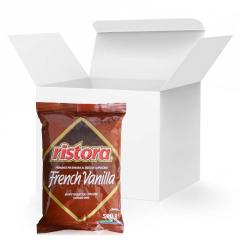 Капучино Ristora French Vanilla, 0.5кг*20уп