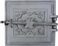Дверка топочная ДТЗК на закрутке с отражателе