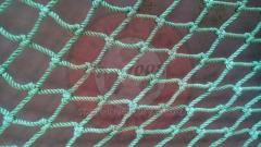 Сетка для лазания (ячейка 100*100 мм Ø 10 мм)