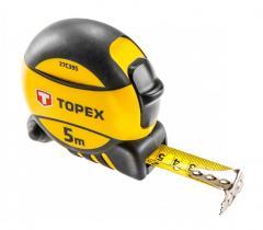 Рулетка Topex 27C395 Рулетка, сталева стрiчка 5 м