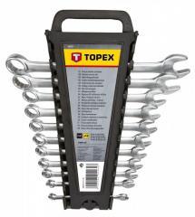 Набор ключей комбинированных TOPEX, 6-22 мм, 12