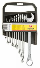 Набор ключей комбинированных TOPEX, 6-22 мм, набор