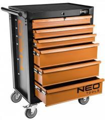 Тележка для инструмента NEO, 6 ящиков,