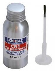 The LOXEAL CR-1 solvent, for instant and anaerobic