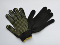 Перчатки трикотажные,Трикотажные перчатки с