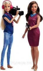 Набор кукол Барби команда новостей Barbie Careers TV News Team Dolls, 2 Pack