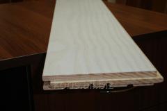 Deck plank oak, ash