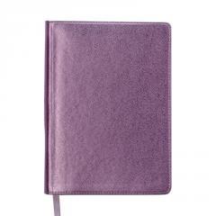 Ежедневник недатированный METALLIC, A5, розовый