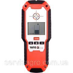 Детектор цифровий YATO 3 в 1-му для определения дерева/напряжения/металла. ZOOM DW