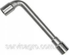 Ключ торцевой изогнутый Technics19 мм