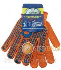 Перчатки рабочие 21103 СТАЛЬ (без подвески)
