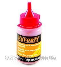 Краска для малярных шнуров красная 60 г