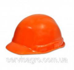 Каска строительная оранжевая (Украина)