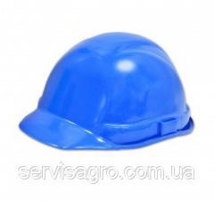 Каска строительная синяя (Украина)