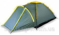 Палатка Tourist, 3х-местная ((190х165х110)+90 см)