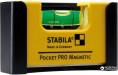 Мини-уровень STABILA Pocket PRO Magnetic магнитный 7х2х4 см 1 капсула держатель на ремень