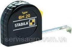Рулетка STABILA Type BM20 2-5м пластиковый корпус стальная лента