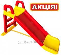 Горка детская пластиковая для мальчиков и девочек,
