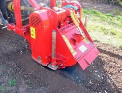Hole-borer-stubbing-loaders machine