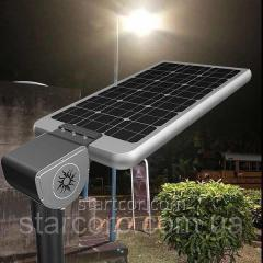 Street lamp LED autonomous on the solar...
