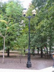 "Lighting poles park ""Venice"" cast antique lamp with LED"