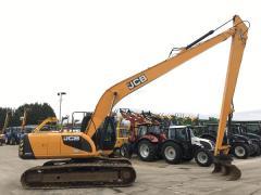 Гусеничный экскаватор JCB JS220LC Long Reach Digger.