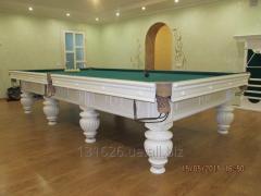 Бильярдные столы Акрополь Про от 9 до 12 футов