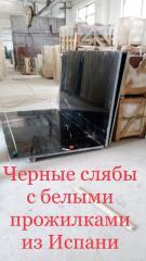 Мраморные столешницы, столики, пол, стены и