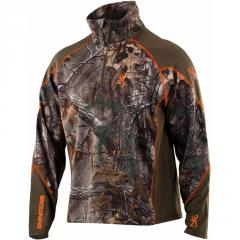 Реглан для охоты Browning Men's Hells Canyon Midweight Base Layer 1/4 Zip Top