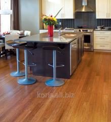 Parquet for oak kitchen