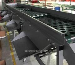 Машина для сортировки продукции по размеру: