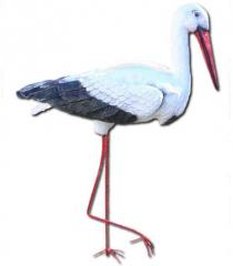 Декоративные садовые фигурки, фигуры птиц для сада